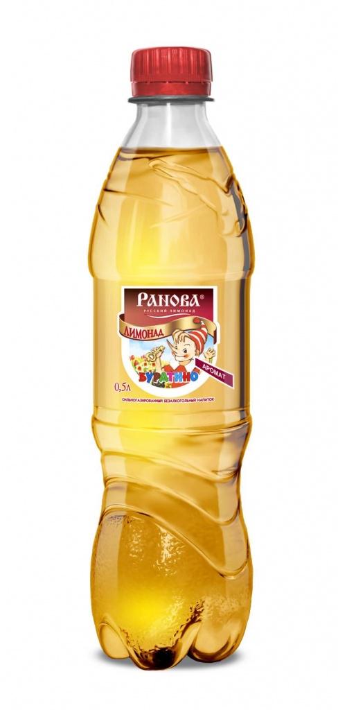 Лимонад Буратино 0,5 л.