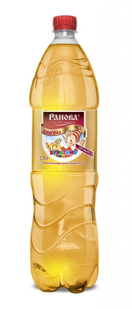Лимонад Буратино 1,5 л.